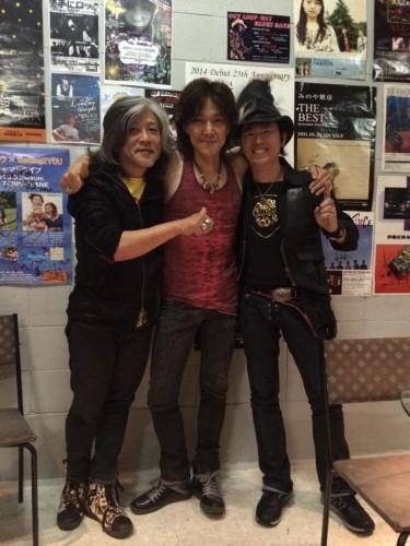 辻野孝明さん、ichiroさん、Bobby