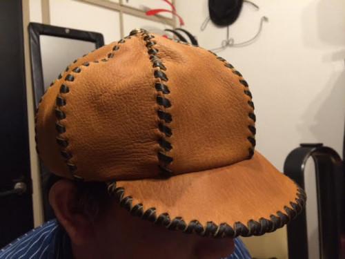 Bobby Art Leather オリジナルキャスケット