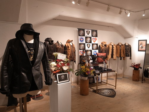 Obelisk & Bobby Art Leather 2人展 in OSAKA